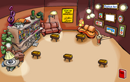 White Puffle Pin location