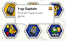 1-up captain stamp book