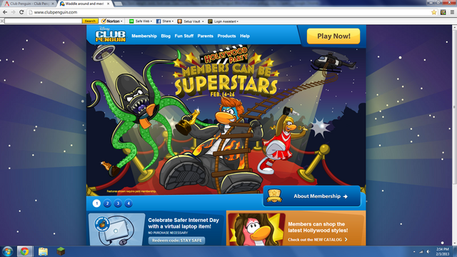 File:Club penguin hollywood screen.png