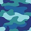 Fabric Blue Camo icon