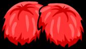 Red Pom Poms icon