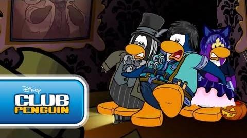 """Halloween Party 2012 """"I Dare You"""" Official Club Penguin"""