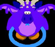Purple Dragon Costume in-game