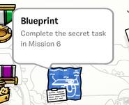 Blueprint stamp book