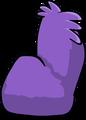 Fuzzy Purple Couch sprite 010