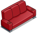 Red Designer Couch sprite 029