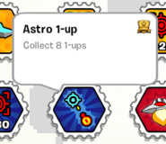 Astro 1-up stamp book