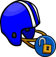 BlueFootballHelmetUnlock