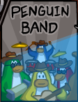 Penguin Band Poster