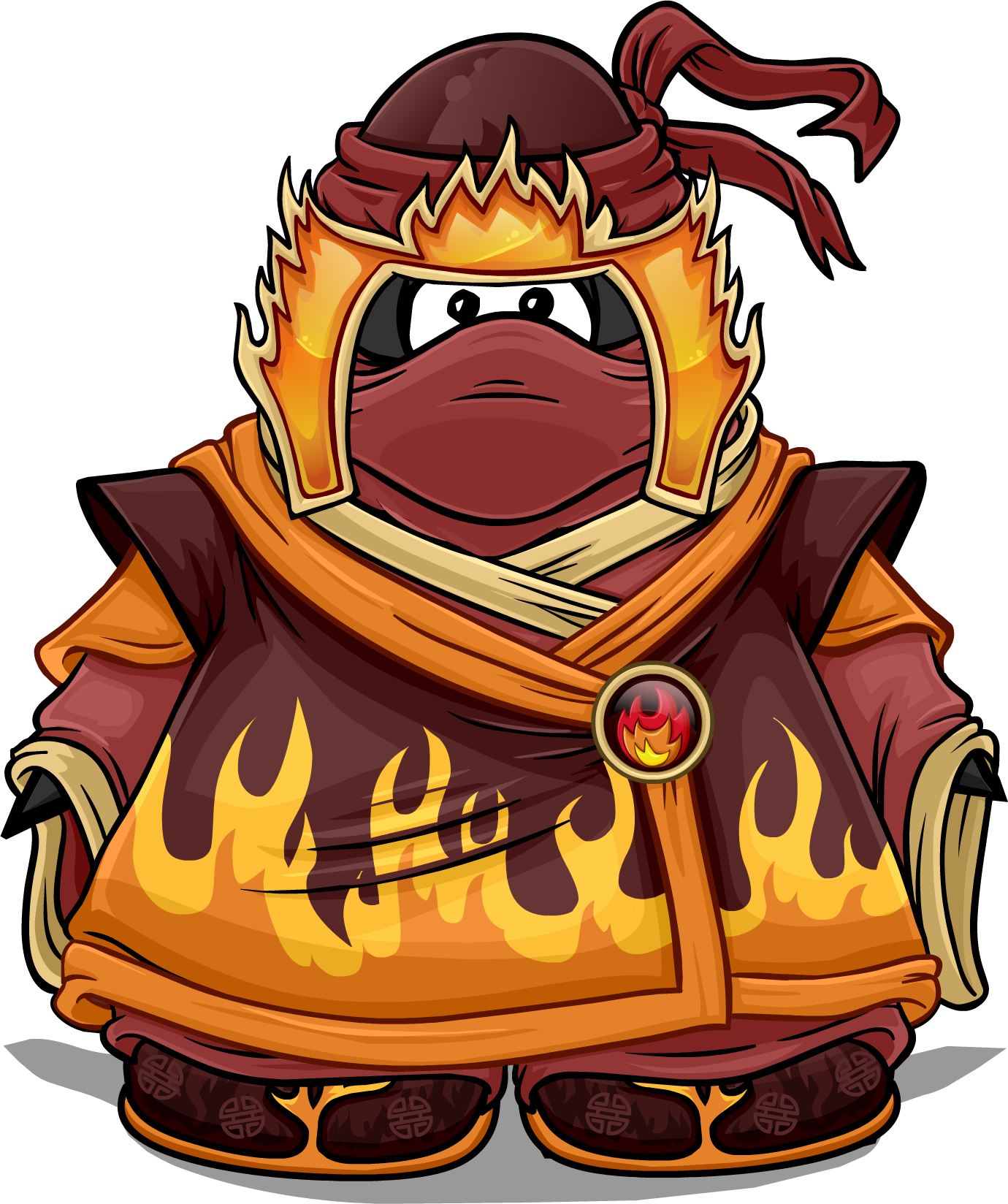 fire ninjas in club penguin