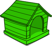 Green Puffle House sprite 004