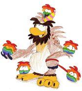Wild Rainbow Puffles