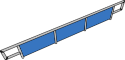 In-line Ramp furniture icon