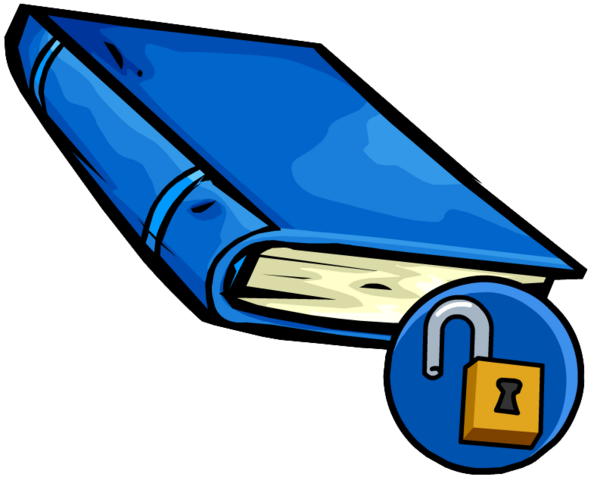 File:Blue Book clothing icon ID 15007.png