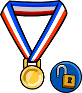 Gold Medal unlockable icon