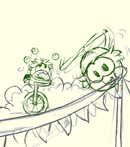 File:Green Puffle Sketch card image.png