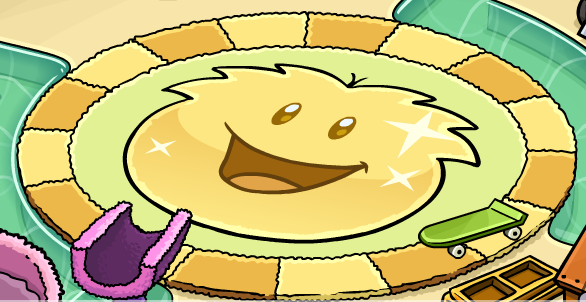 File:Gold Puffle Rug.png