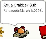 Aqua grabber sub pin