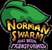 Norman Swarm has been Tranformed Logo