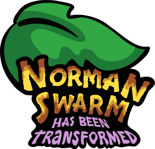 File:Norman Swarm has been Tranformed Logo.png