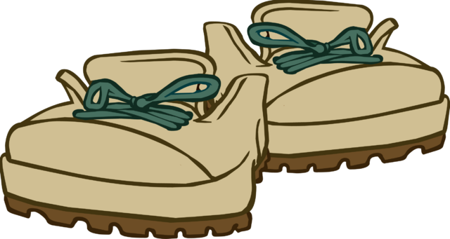 File:Beige Hiking Boots.png