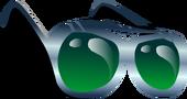 Emerald Aviators Face Item