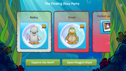 Finding Dory Party app interface page 3