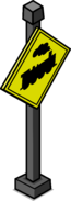 Train Crossing Sign sprite 003