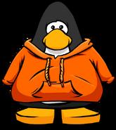 Orange Hoodie Player Card