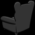 Plush Gray Chair sprite 004