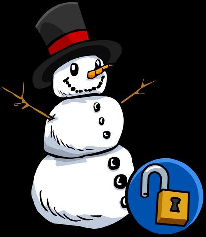 File:SnowmanFurnitureUnlockableVersion.png