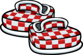 Red Checkered Shoes icon