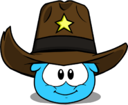 Sheriff Stetson in Puffle Interface