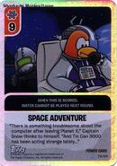 Space Adventure Power Card