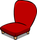 Red Plush Chair sprite 002