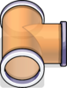T-joint Puffle Tube sprite 079