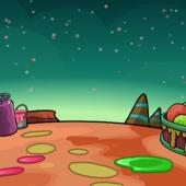 Alien World Background