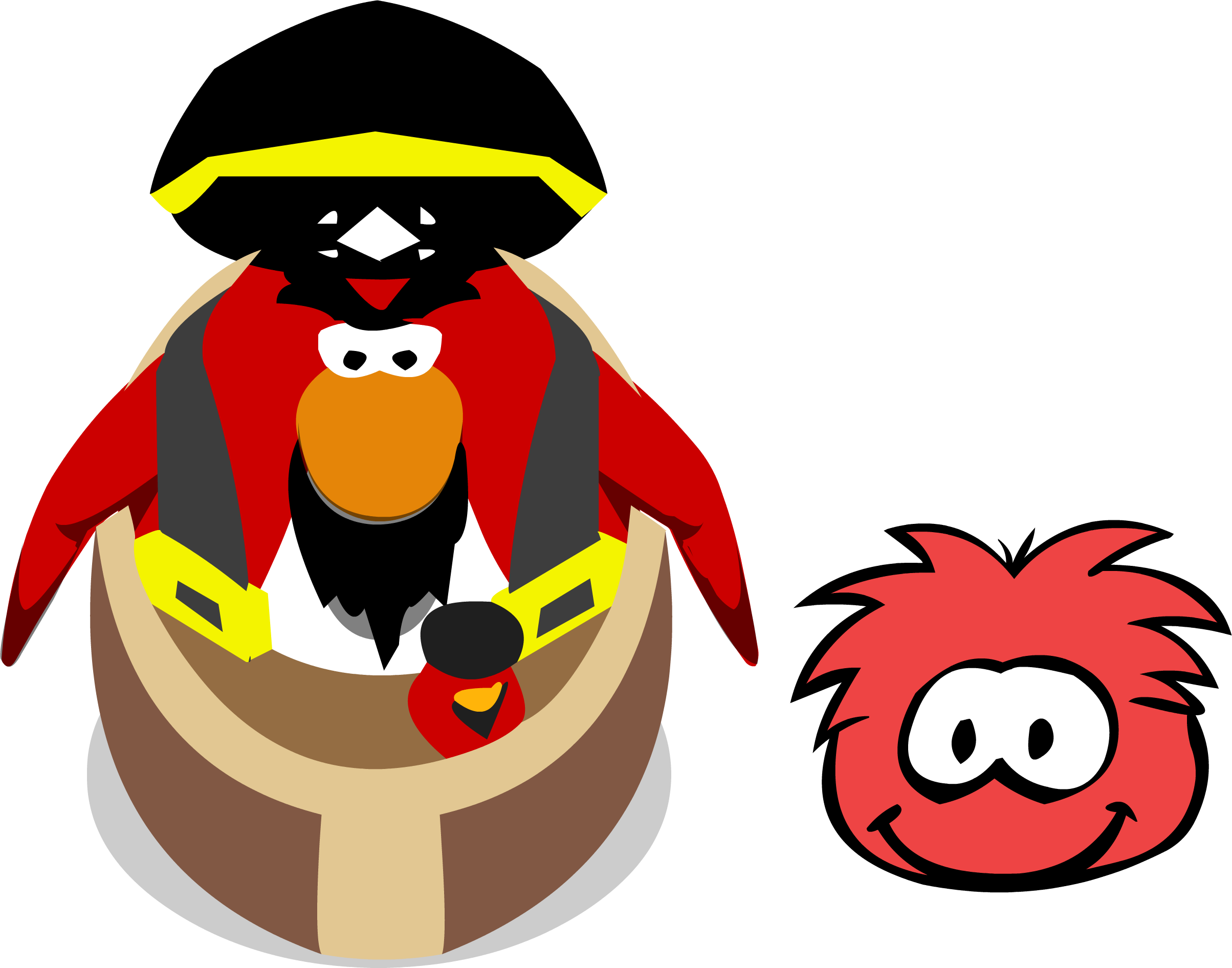 Fair Rockhopper With Yarr In-game
