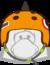 Orange Skate Spike Helmet icon