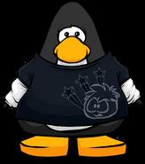 Black Skater Shirt cutout