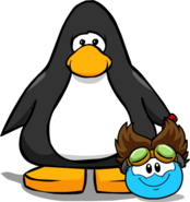 The Rad Scientist (Puffle Hat) on Player Card