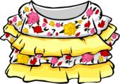 Yellow Fiesta Dress icon ID 4049