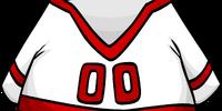 Red Away Hockey Jersey