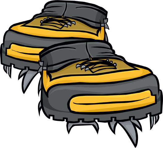 File:Yellow Hiking Shoes.png