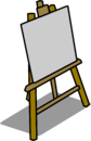 Easel sprite 010