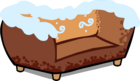 Gingerbread Couch sprite 008