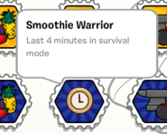 Smoothie warrior stamp book
