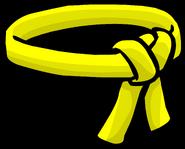 Yellow Ninja Belt icon