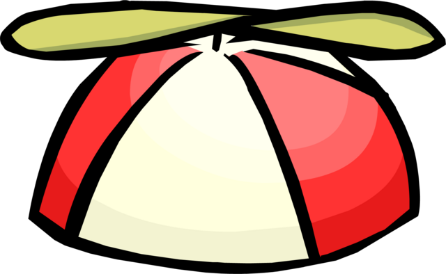 File:Red Propeller Cap clothing icon ID 407.png