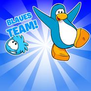 Go Blue Background photo de
